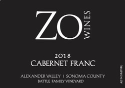 2018 Cabernet Franc -Battle Family